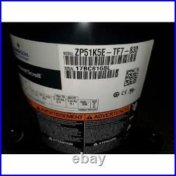 Copeland Zp51k5e-tf7-830 4-1/4 Ton Ac/hp High Temp Scroll Compressor, R410a