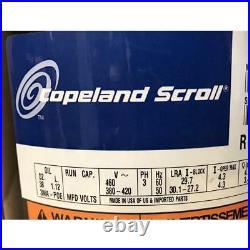 Copeland Zps20k4e-tfd-230 1-1/2 Ton 2 Stage Ultra Tech Ac/hp Scroll Compressor
