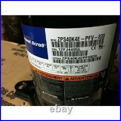 Copeland Zps40k4e-pfv-830 3-1/2 Ton 2-stage High Temp Ac/hp Scroll Compressor