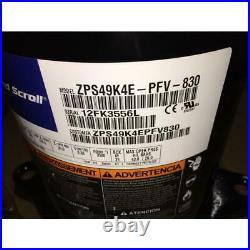 Copeland Zps49k4e-pfv-830 4 Ton Ac/hp 2 Stage Scroll Compressor R-410a