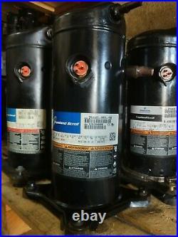 ZR44K5-PFV-130, 4 ton, R22, 220V, AC Compressor Copeland Scroll